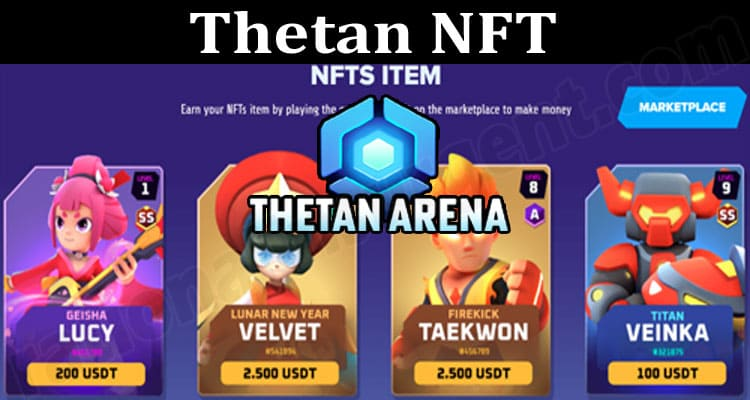 About General Information Thetan NFT