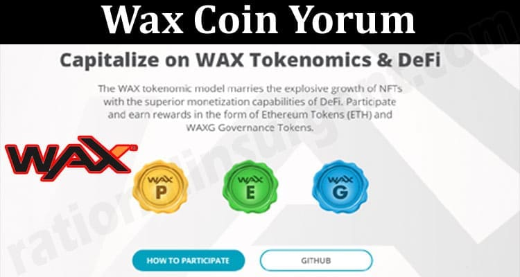 About General Information Wax Coin Yorum
