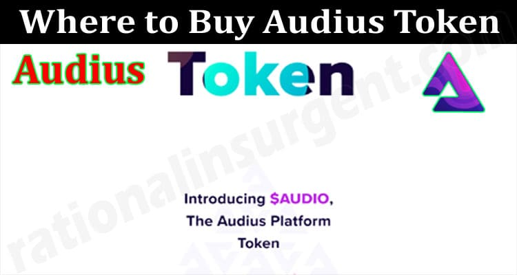 About General Information Where To Buy Audius Token