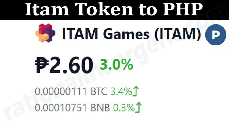 About General information Itam Token To PHP
