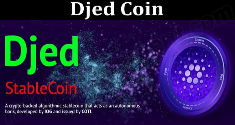 About General Infoprmation Djed Coin