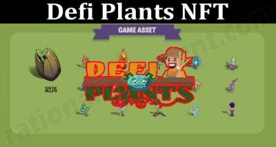 About General Informartion Defi Plants NFT