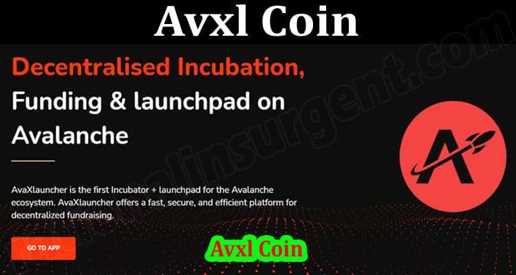About General Information Avxl Coin