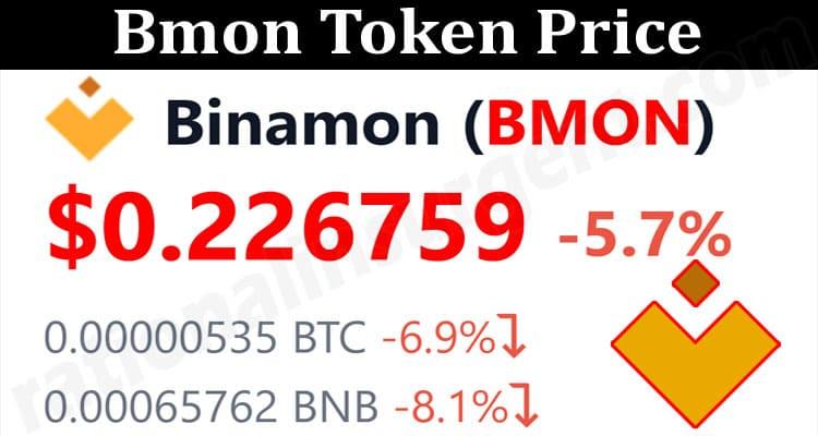 About General Information Bmon Token Price
