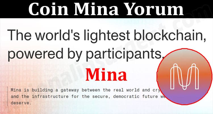 About General Information Coin Mina Yorum