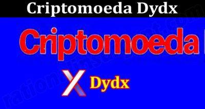 About General Information Criptomoeda Dydx