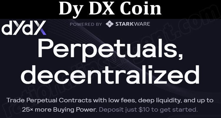 About General Information Dy DX Coin