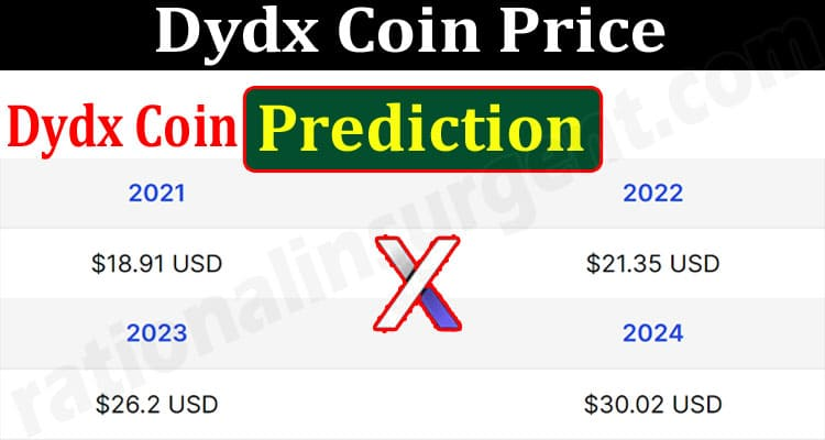 About General Information Dydx Coin Price Prediction