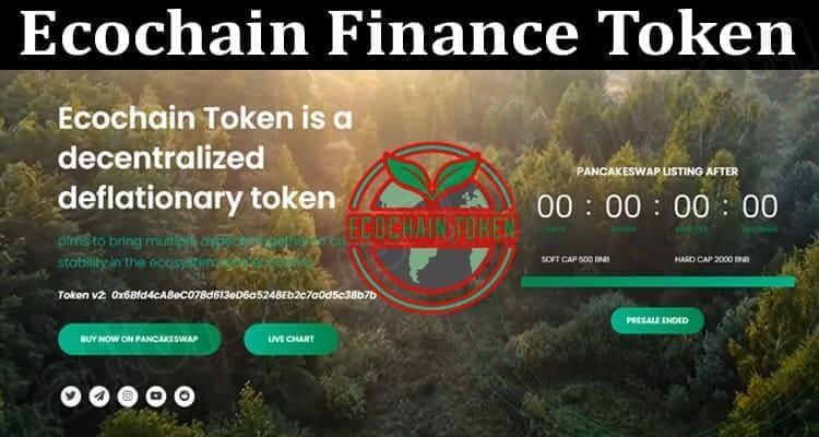 About General Information Ecochain Finance Token