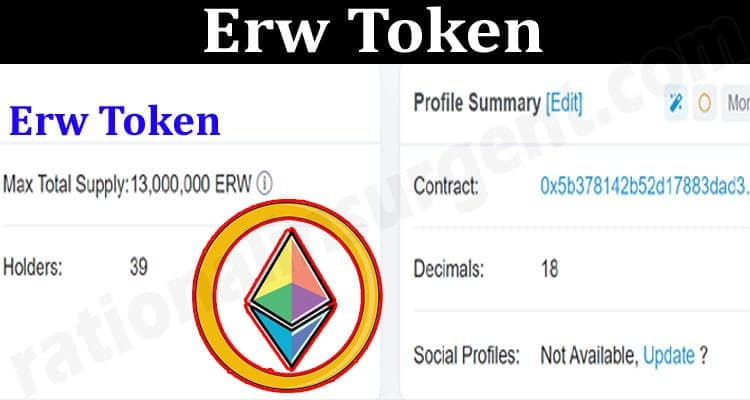 About General Information Erw Token