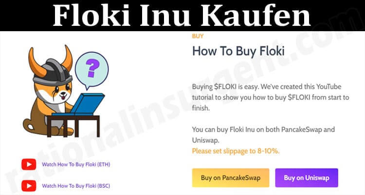 About General Information Floki Inu Kaufen