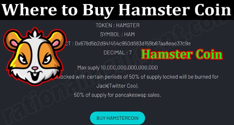 About General Information Hamster Coin