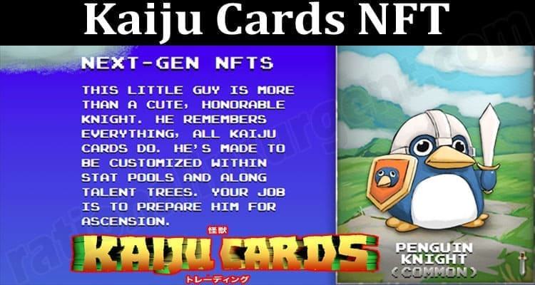 About General Information Kaiju Cards NFT