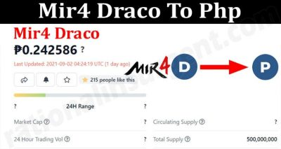 About General Information Mir4 Draco To Php