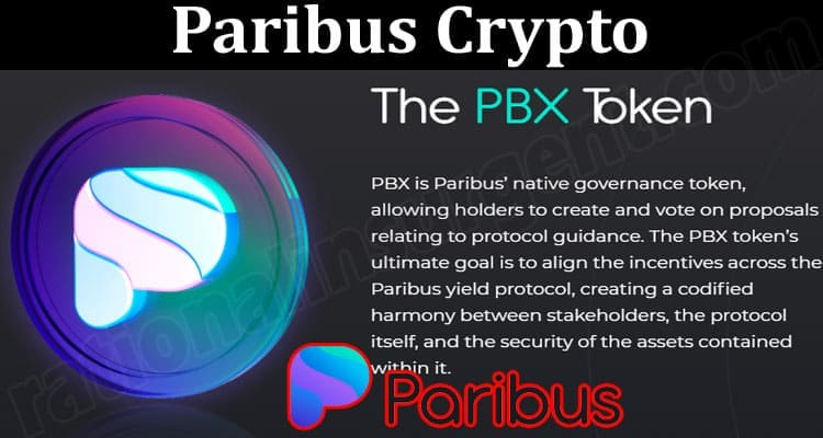 About General Information Paribus Crypto