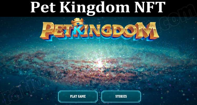 About General Information Pet Kingdom NFT