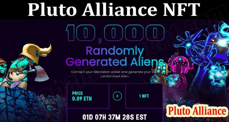 About General Information Pluto Alliance NFT
