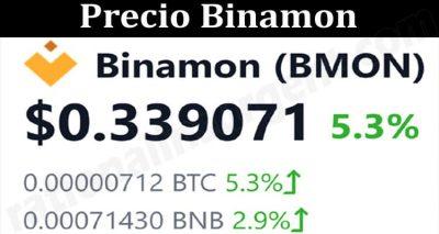 About General Information Precio Binamon