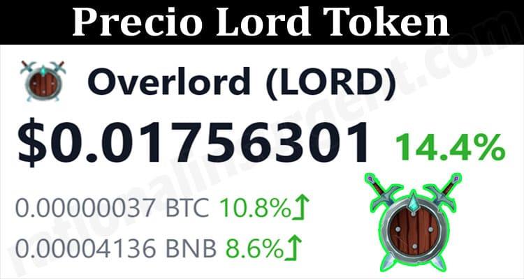 About General Information Precio Lord Token
