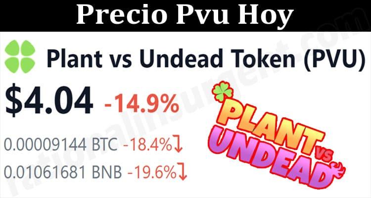 About General Information Precio Pvu Hoy