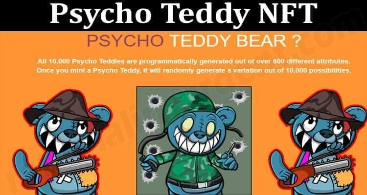 About General Information Psycho Teddy NFT