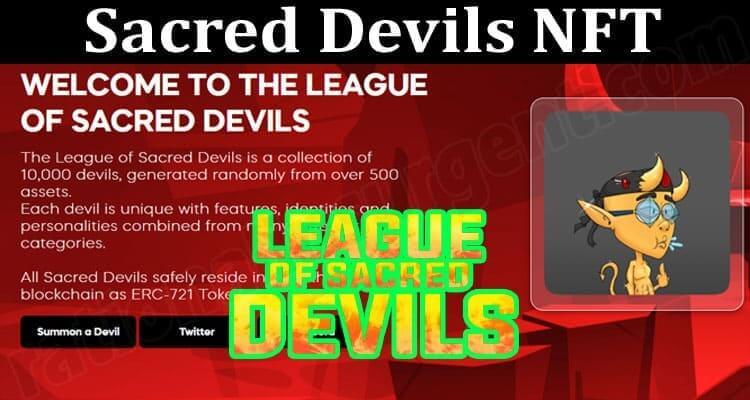 About General Information Sacred Devils NFT