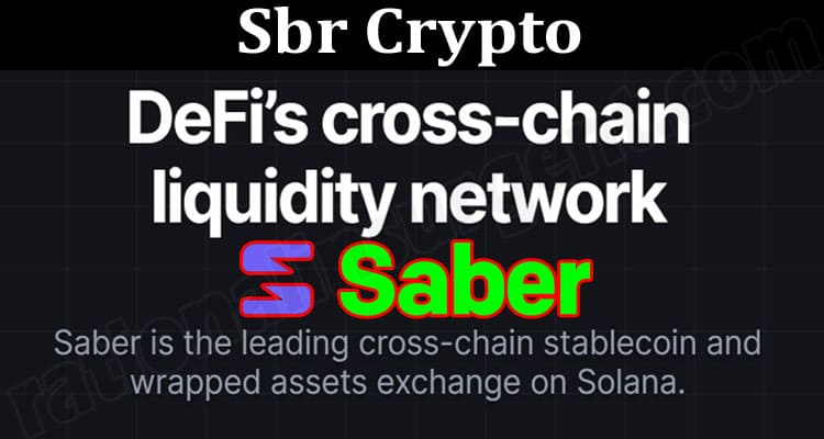 About General Information Sbr Crypto