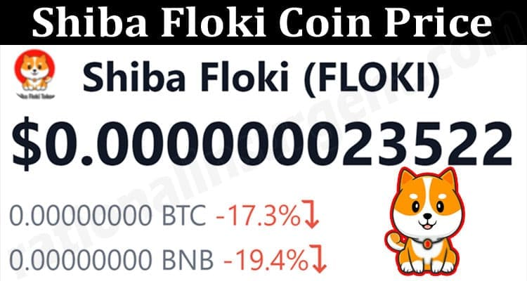 About General Information Shiba Floki Coin Price