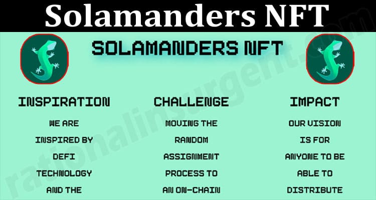 About General Information Solamanders NFT