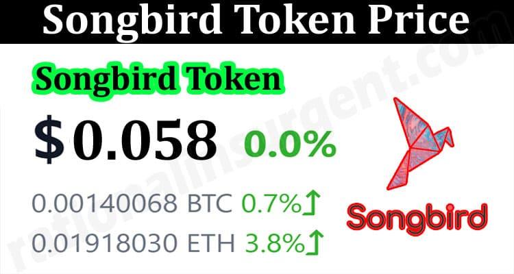 About General Information Songbird Token Price