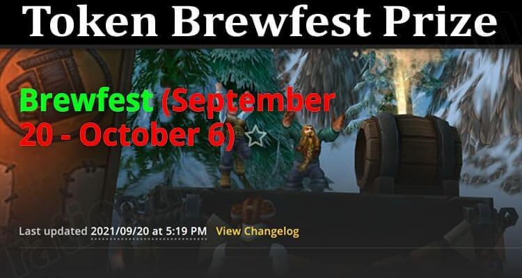 About General Information Token Brewfest Prize
