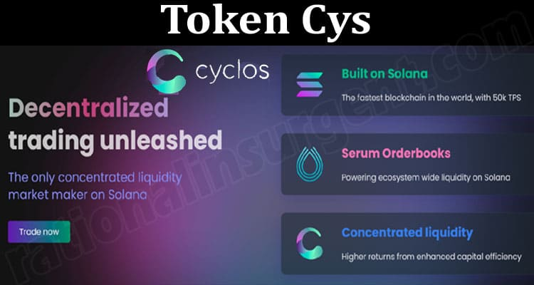 About General Information Token Cys
