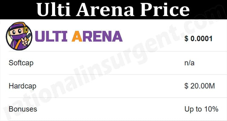 About General Information Ulti Arena Price