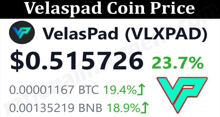 About General Information Velaspad Coin Price