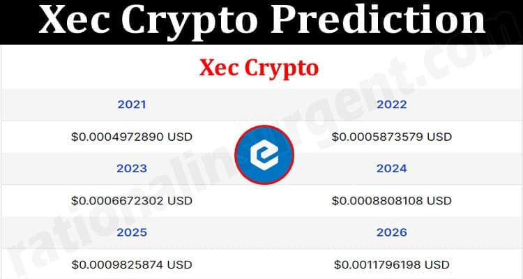About General Information Xec Crypto Prediction