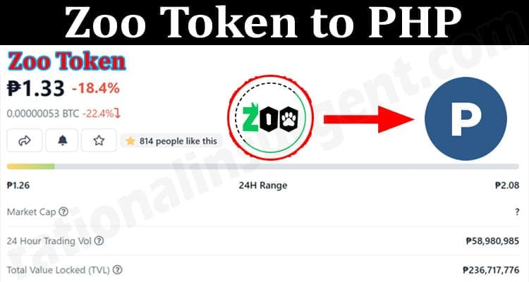 About General Information Zoo Token To PHP