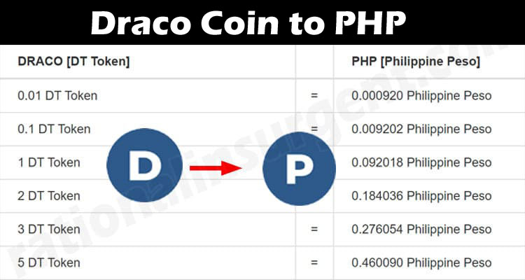 About General Information.Draco Coin to PHP
