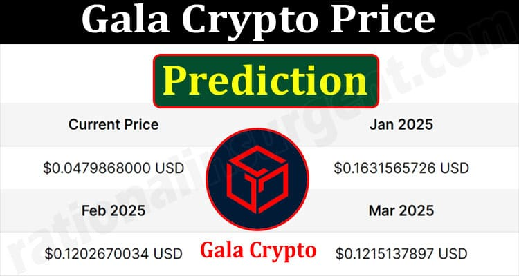 About General InformationGala Crypto Price Prediction