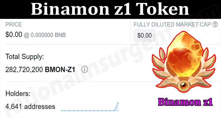 About General Informaton Binamon z1 Token