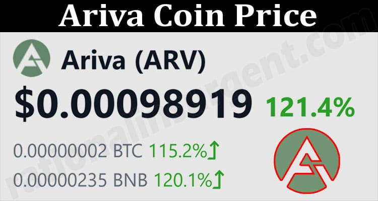 About General Infiormation Ariva Coin Price
