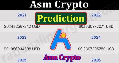 About General Information Asm Crypto Prediction