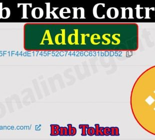 About General Information Bnb Token Contract Address