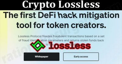 About General Information Crypto Lossless