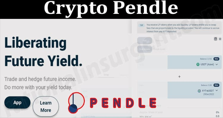 About General Information Crypto Pendle