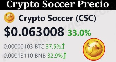 About General Information Crypto Soccer Token