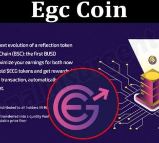 About General Information Egc Coin