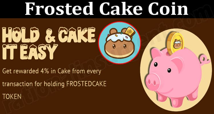 About General Information Frosted Cake Coin