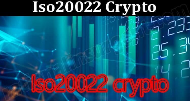 About General Information Iso20022 Crypto