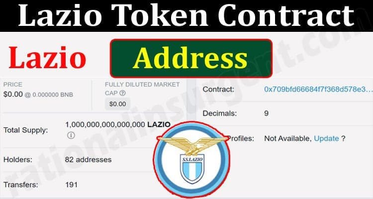 About General Information Lazio Token Contract Address