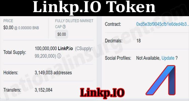 About General Information Linkp.IO Token